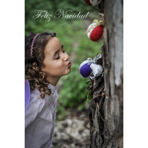 Postal de Navidad - Panchona