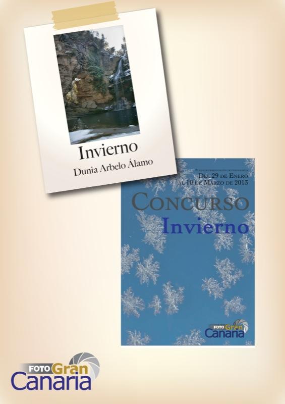 Cartel ganador Concurso de Invierno