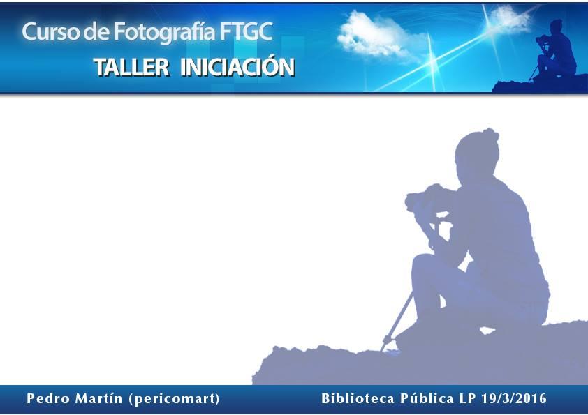 Taller básico de fotografía de Foto Gran Canaria