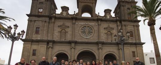 Y así fue nuestro paseo por el casco histórico de Vegueta.