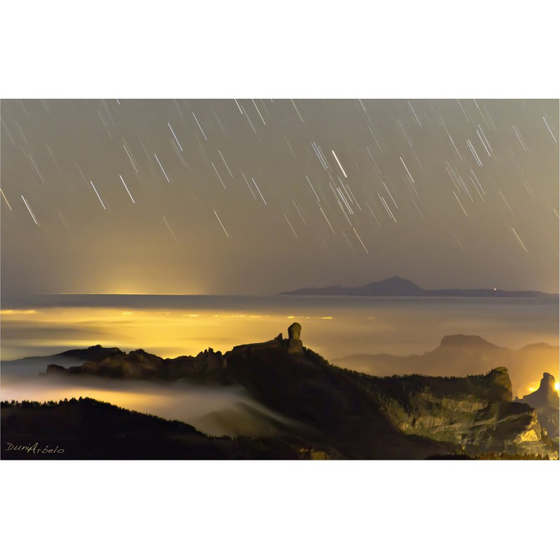 Lluvia de estrellas (Dunia Arbelo)